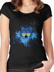 THE DUDE WOLF Women's Fitted Scoop T-Shirt