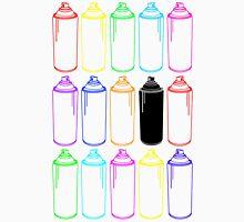 Spray Cans Neon Unisex T-Shirt