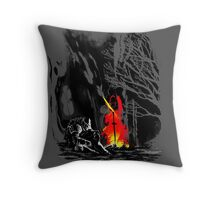 Fate of the undead Throw Pillow