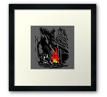 Fate of the undead Framed Print