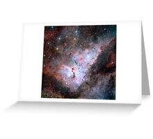 Galaxy Space Nebula Stars Print Greeting Card
