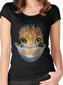 GALANTIS SEAFOX WATER Women's Fitted Scoop T-Shirt