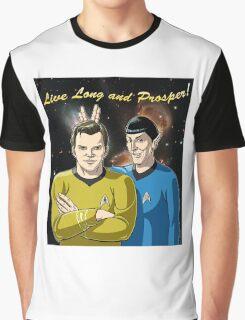 Star Trek - Kirk & Spock Graphic T-Shirt
