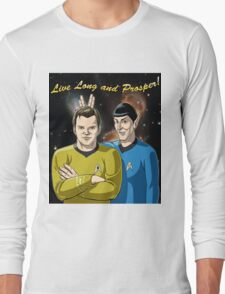 Star Trek - Kirk & Spock Long Sleeve T-Shirt