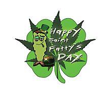 Happy Saint Fatty's Day Photographic Print