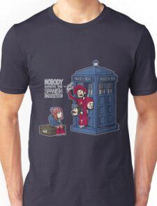 Police Box Nobody Spanish Inquisition Unisex T-Shirt