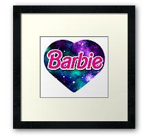 BARBIE universe Framed Print