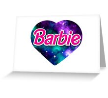 BARBIE universe Greeting Card