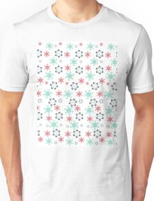 Tender flowers. Beautiful flower pattern. Unisex T-Shirt