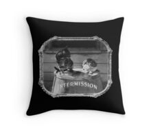 Cat Intermission! Throw Pillow