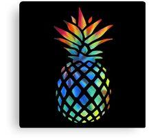 Hippy Pineapple - ONE:Print Canvas Print