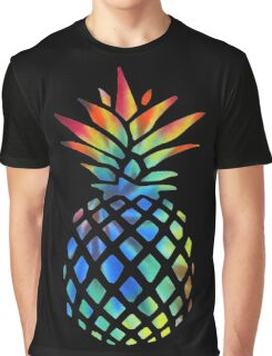 Hippy Pineapple - ONE:Print Graphic T-Shirt