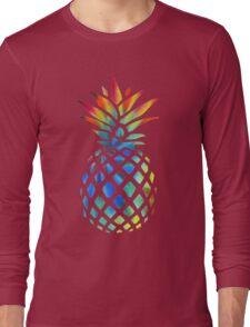 Hippy Pineapple - ONE:Print Long Sleeve T-Shirt