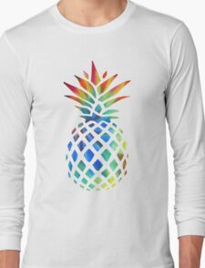 Hippy Pineapple - ONE:Print Long Sleeve T-Shirt