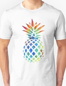 Hippy Pineapple - ONE:Print Unisex T-Shirt