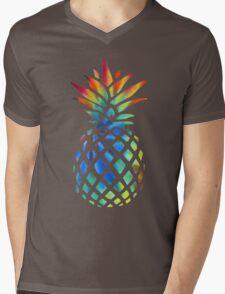 Hippy Pineapple - ONE:Print Mens V-Neck T-Shirt