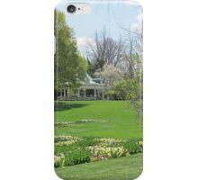 Gazebo Garden iPhone Case/Skin