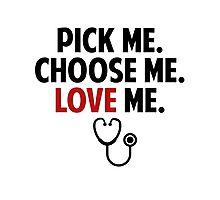 Grey's Anatomy - Slogan Photographic Print