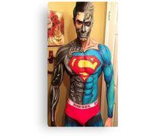 SUPER  MAN - DIESEL Canvas Print