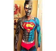 SUPER  MAN - DIESEL Photographic Print
