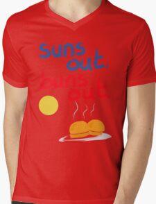 Sun's out, buns out Mens V-Neck T-Shirt