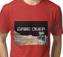 Game Over Tri-blend T-Shirt