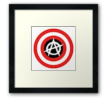 Captain Anarchy! Framed Print