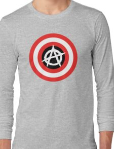 Captain Anarchy! Long Sleeve T-Shirt