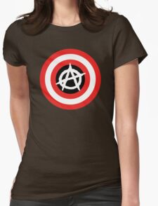 Captain Anarchy! Womens Fitted T-Shirt