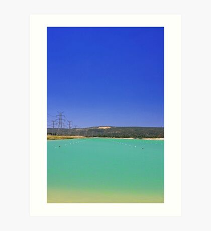 Champion Lake - Western Australia  Art Print