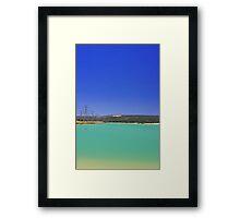 Champion Lake - Western Australia  Framed Print