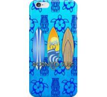 Born To Surf Tiki iPhone Case/Skin