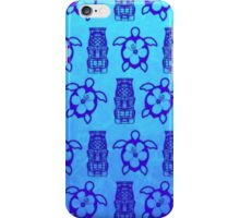 Hawaiian Honu And Tiki iPhone Case/Skin