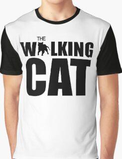 The Walking Cat Graphic T-Shirt