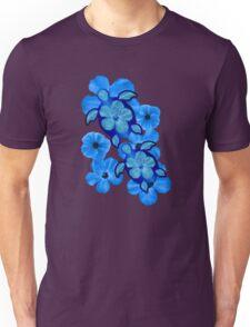 Blue Hawaiian Honu Turtles Unisex T-Shirt