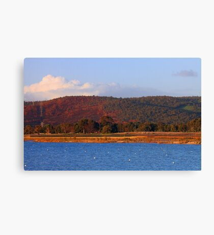 Champion Lakes Foothills - Western Australia  Canvas Print