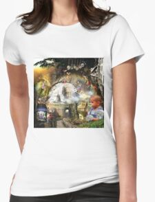 Imagination digital illustration Womens Fitted T-Shirt