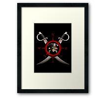 Pirate Compass Framed Print