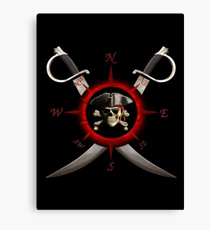 Pirate Compass Canvas Print