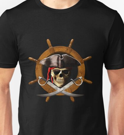 Pirate Wheel Unisex T-Shirt