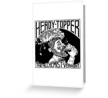 Heady Topper Greeting Card