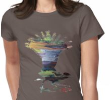 Lyrebird  Womens Fitted T-Shirt