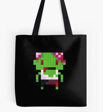 Pixel Art Zombie Tote Bag
