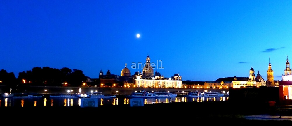 Dresden Blue Hour by ©The Creative  Minds