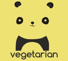 Vegetarian Panda Kids Tee