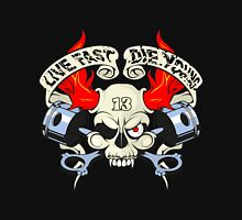 Live fast die young /  Thug Life/Most Wanted/Gangwear/Biker/Harley Unisex T-Shirt