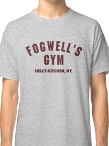 Fogwell's Gym, Hell's Kitchen – Daredevil, NY Classic T-Shirt