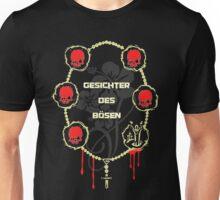 Gangster Totenkopf T-Shirts / Gesichter 4 Unisex T-Shirt