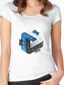 Bike forever /Marek/ Women's Fitted Scoop T-Shirt