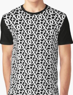 &mpersand: White Graphic T-Shirt